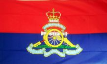 BRITISH ROYAL ARTILLERY - 5 X 3 FLAG